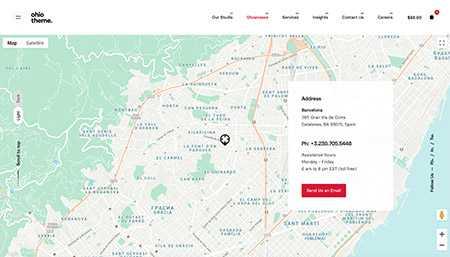 ContactType1 Desktop Demo: Landing Page